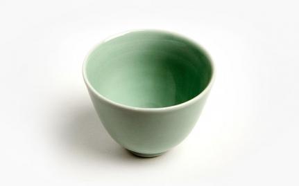 Ανοιχτό πράσινο κεραμική κούπα Yu