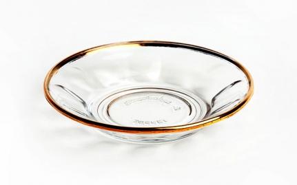 Turkish glass saucer