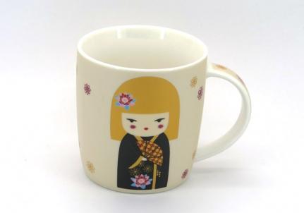 Κούπα Geisha με ξανθά μαλλιά