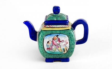 Bell-shaped earthenware teapot Chun