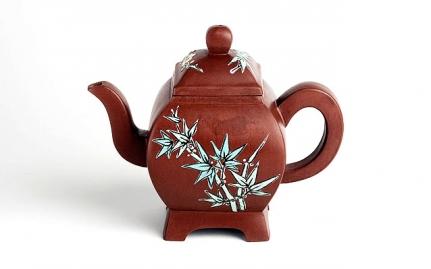Bell-shaped Yixing teapot Duan