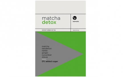 Matcha Detox 0% added sugar