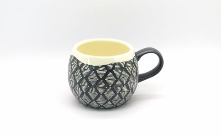 Στρογγυλή κεραμική κούπα mug Ben A